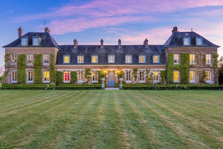 Château 18ème 15 km de Honfleur