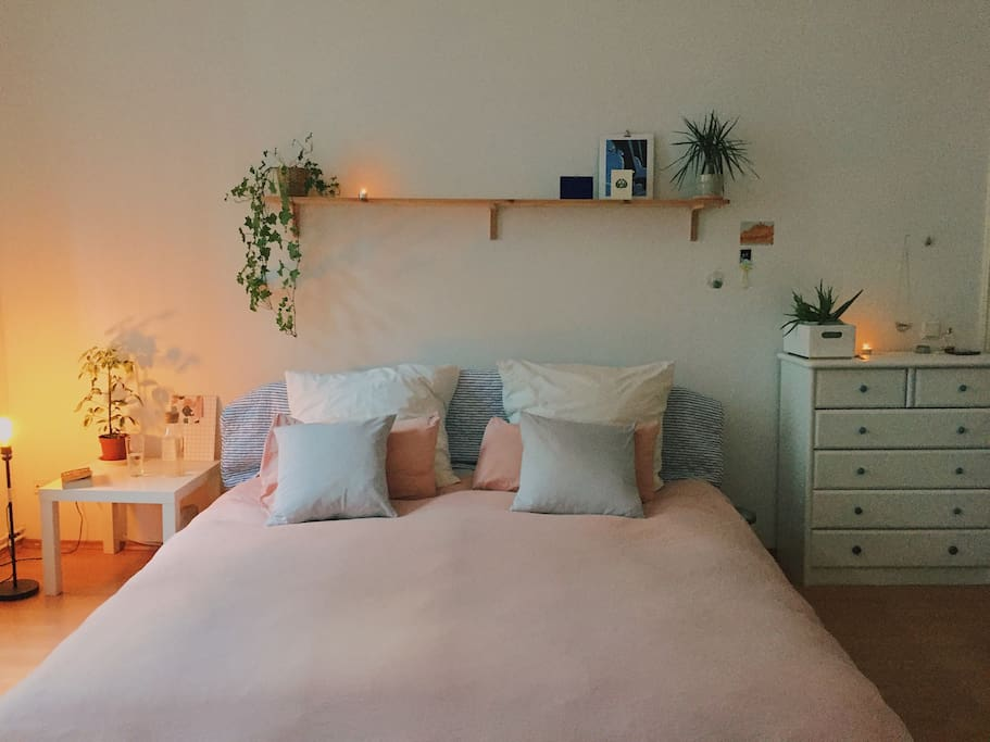 Bedroom  - King sized bed