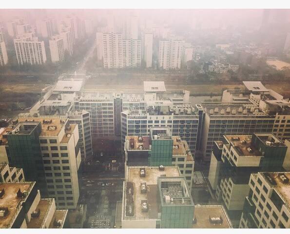 정자역 신축 오피스텔 고층_전망 굿