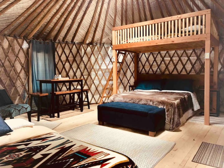 Isaac's Yurt at Hoh Rainforest Resort