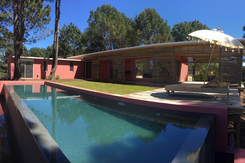 Casa de veraneo en chihuahua houses for rent in for Casa minimalista uruguay