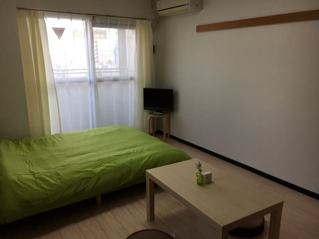 71☆Useful get to Namba clean and comfortable flat☆ - Naniwa-ku, Ōsaka-shi - Appartement