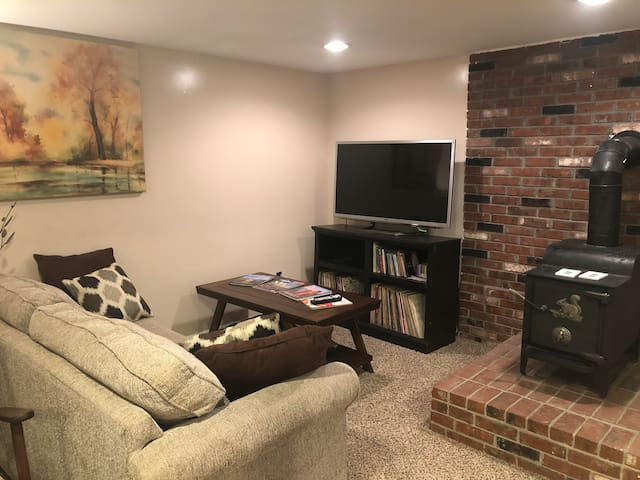 Spacious Bright Basement Apt near South River