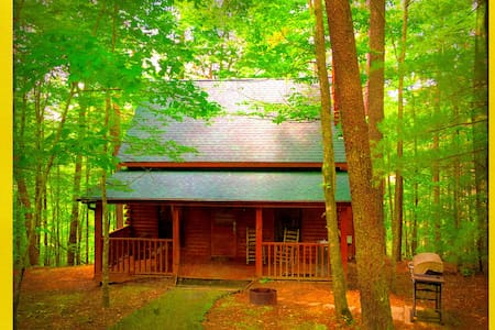 Gorgeous Private Wooded Romantic Cabin Nirvanahhh