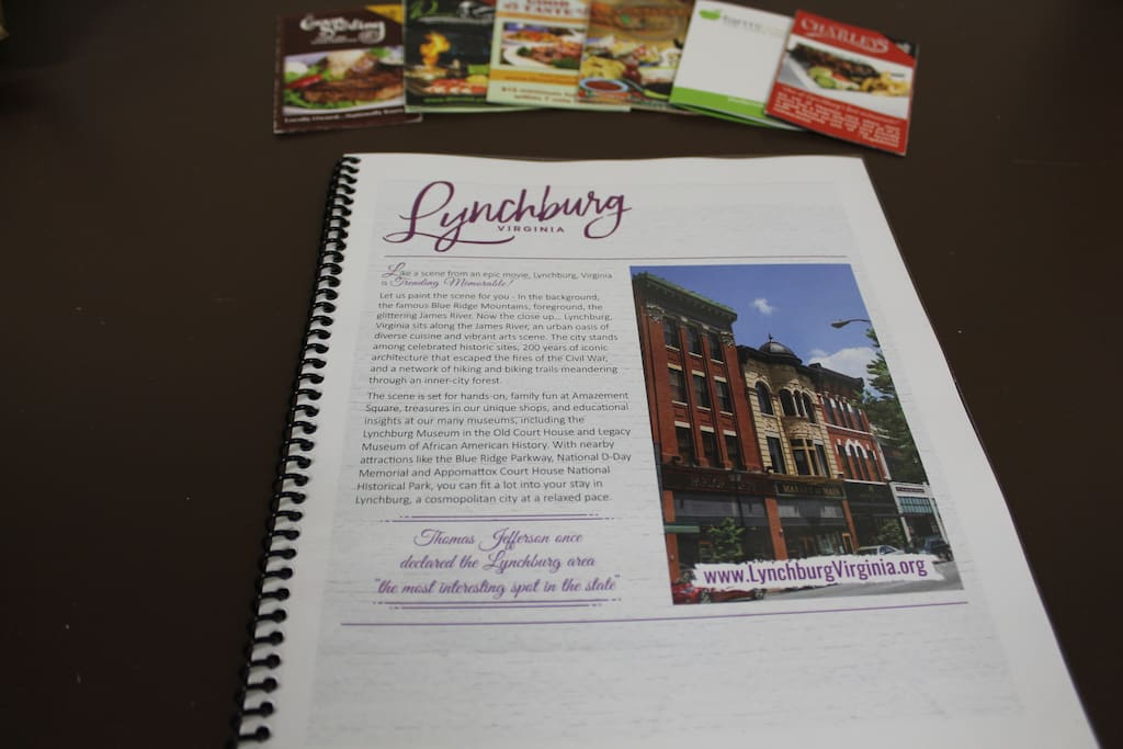 First time in Lynchburg and not sure what exactly our area has to offer? Look no further! Our guidebook provides all the ins and outs of getting around and making the most of your time spent in our city!