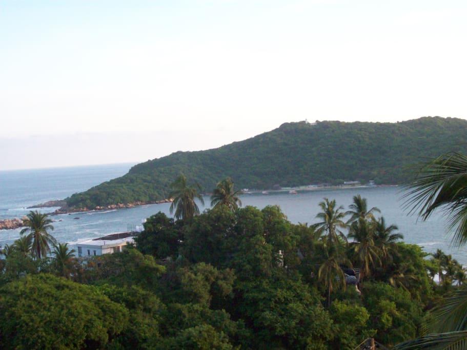 Hermosa vista a la Isla de la Roqueta