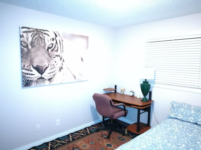 Large Master bedroom in a very quiet house