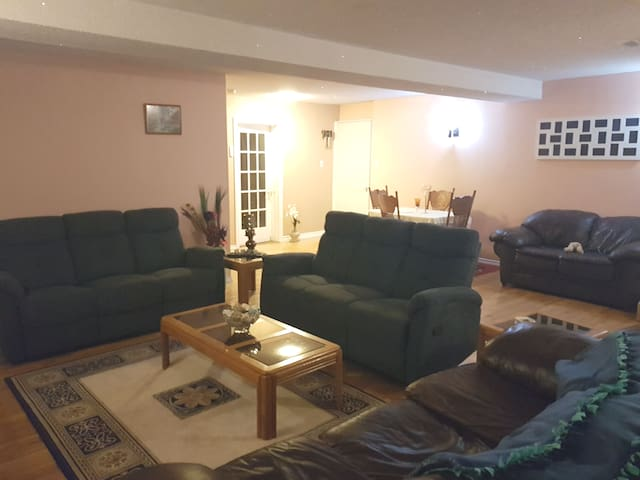 Entire 2 Bedroom Basement apt. Separate entrance