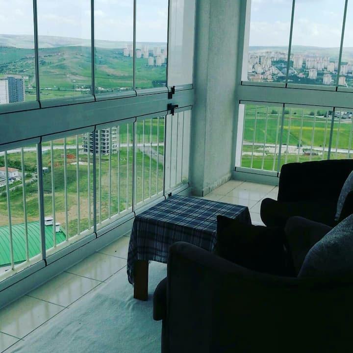 New dublex in ODTÜ Yapracık with panoramic view