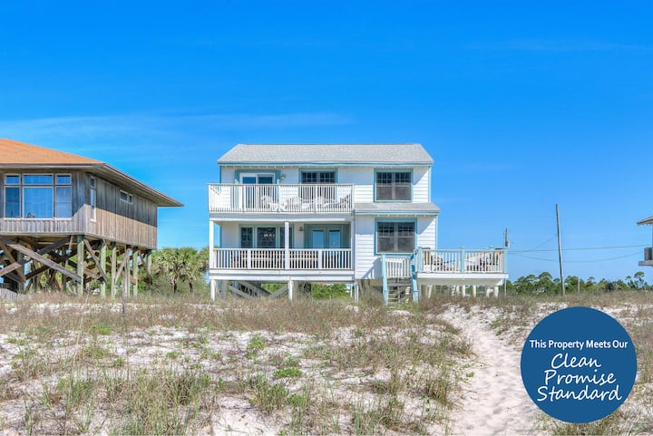 East of Eden Beach House- Beach Front,Private Home with Luxurious Interior!