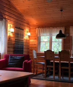 Nice cabin in beautiful and quiet surroundings