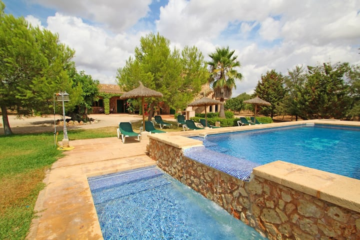 Finca Els Girasols -Great Pool with children space