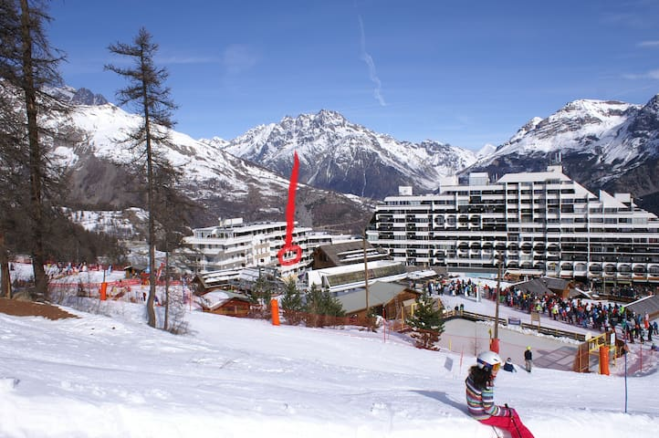 Apart near the slopes for nice montain holidays