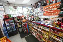 There's a 24 hours convenience store 3 minutes walk from the apartment. You can get lots of snacks there. Great for late night cravings :)