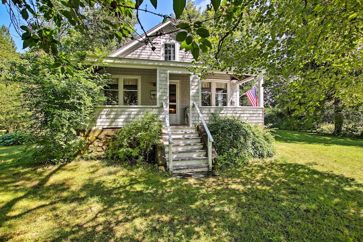Charlestown Home w/Porch & Waterfront View!
