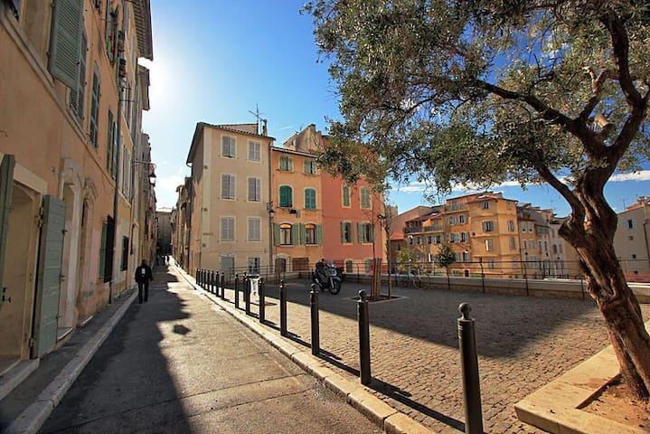 Studio Cosy au cœur du Panier - Marseille