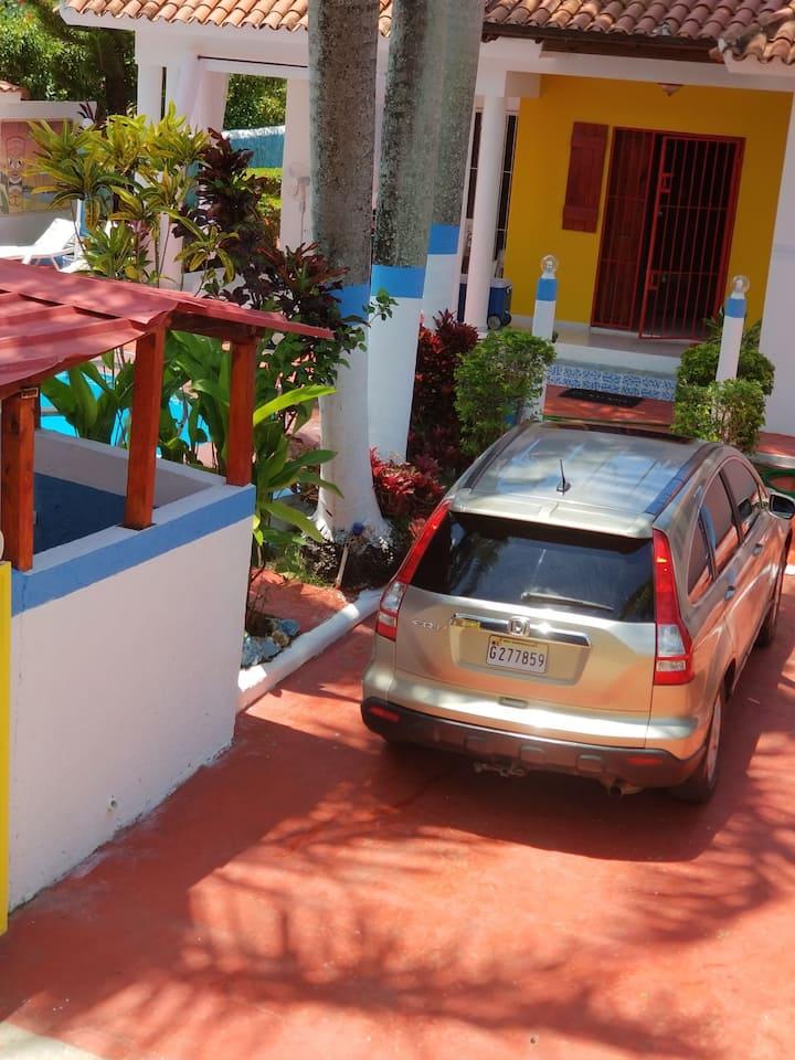 Cabarete,Sosua area Perla Marina.car.Summer Prices