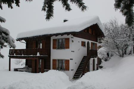 Charmant appartement dans un chalet dans les Alpes - Vercorin - Apartment - 1