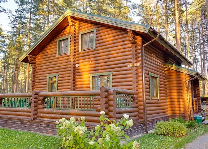 Двухэтажный коттедж в Громово Парк - Leningrad Oblast - Alojamento ecológico