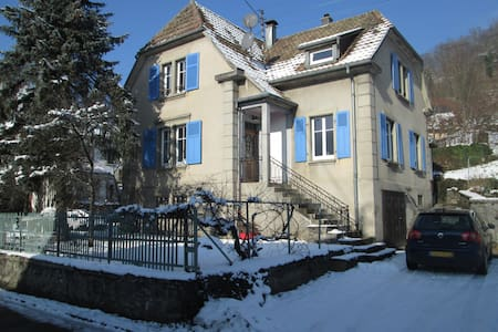 Maison entière Saint Amarin Vosges - Saint-Amarin - Huis