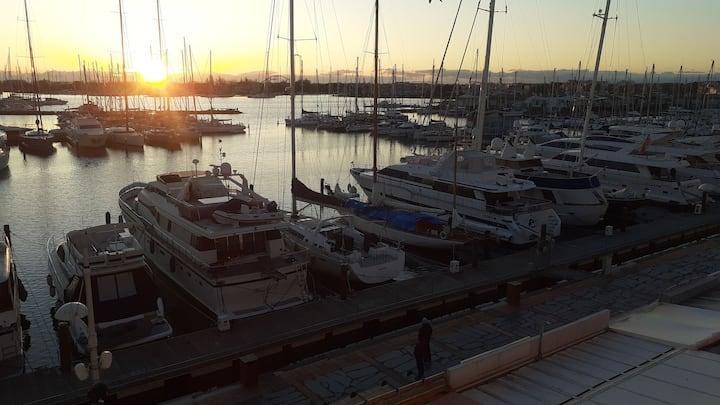 Cap d'Agde appartement avec vue sur le port