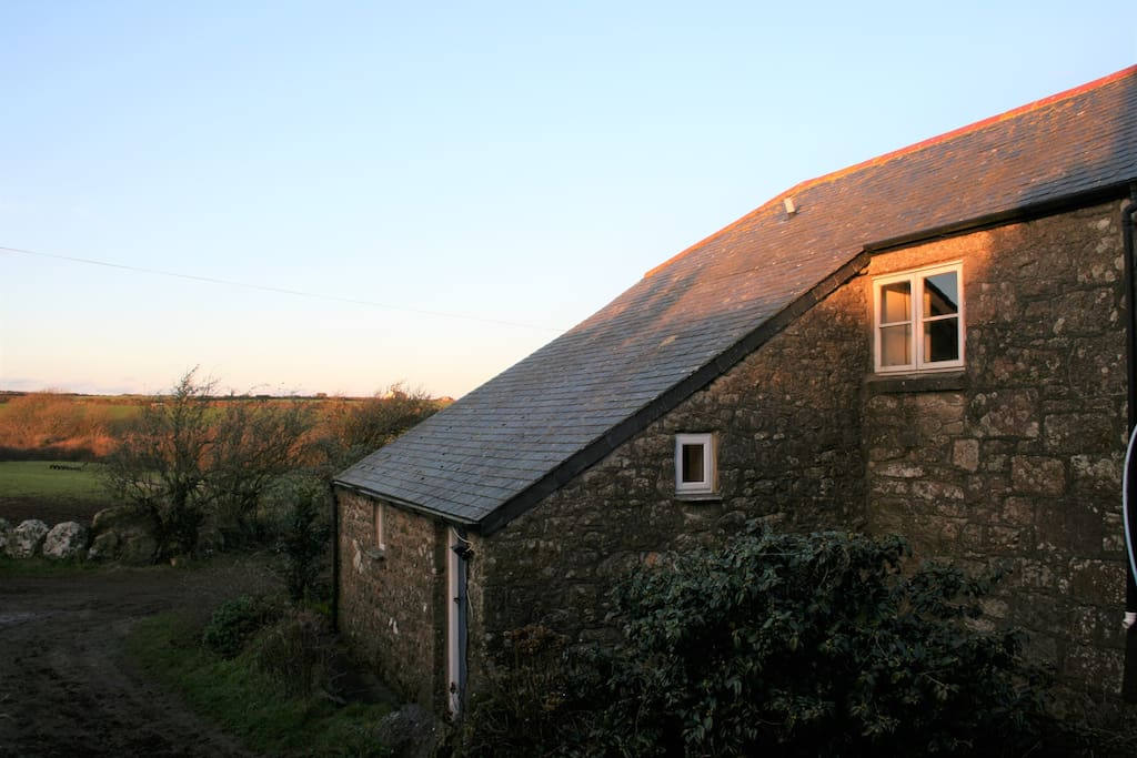 Picture showing farm setting, and private entrance via ground floor