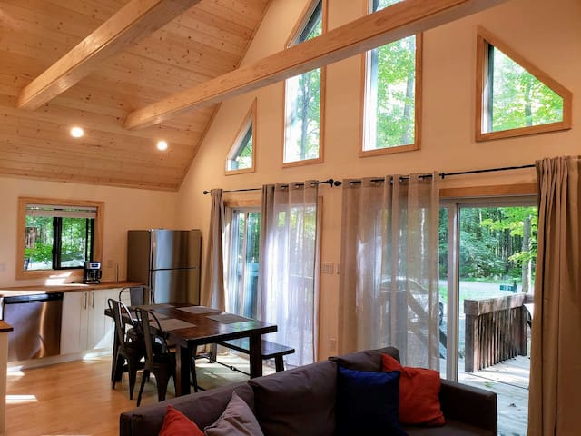 start $59 - 1500 square foot contemporary chalet