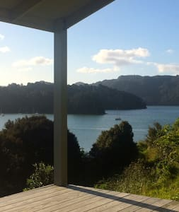 Stylish cabin at Waitapu Bay - Kaeo - Kulübe