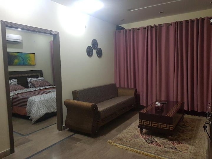 Heart of Bahria Furnished Apartment - Lahore