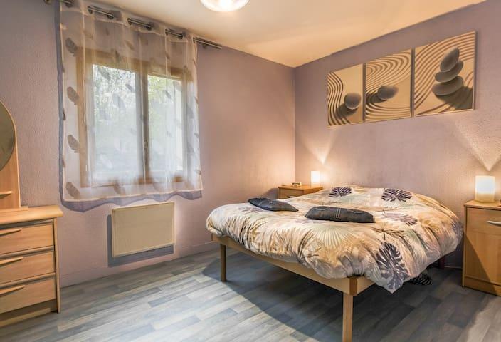 Chambre, WC, sdb  à 10mn de Disney et Val d'Europe