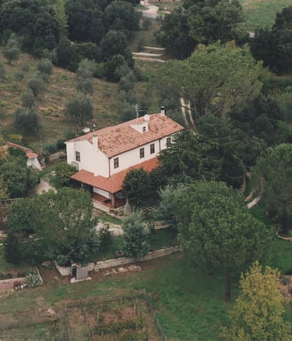 Old farmhouse in Maremma, Tuscany