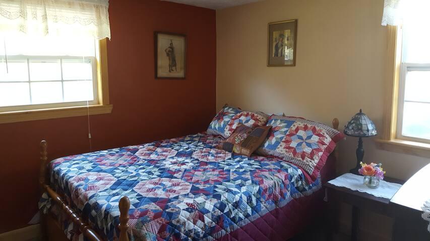 Cozy Farmhouse Bedroom Suite.