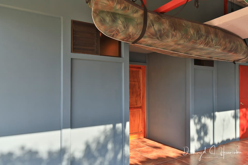 Walk in through your private entrance.