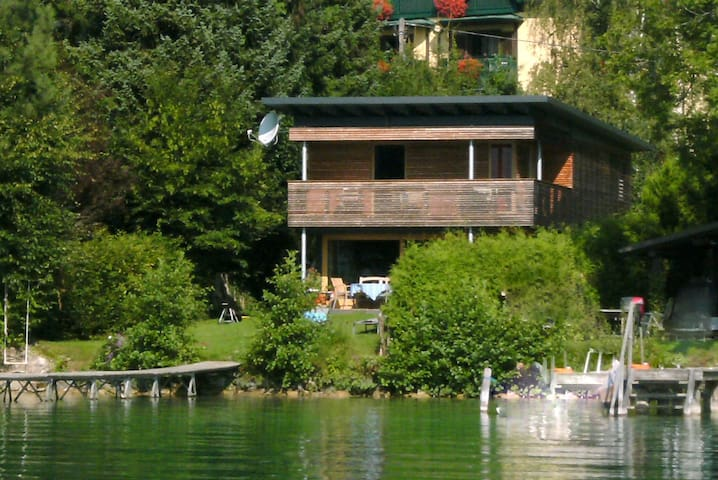 Wörthersee Refuge - private beach - Krumpendorf am Wörthersee - บ้าน