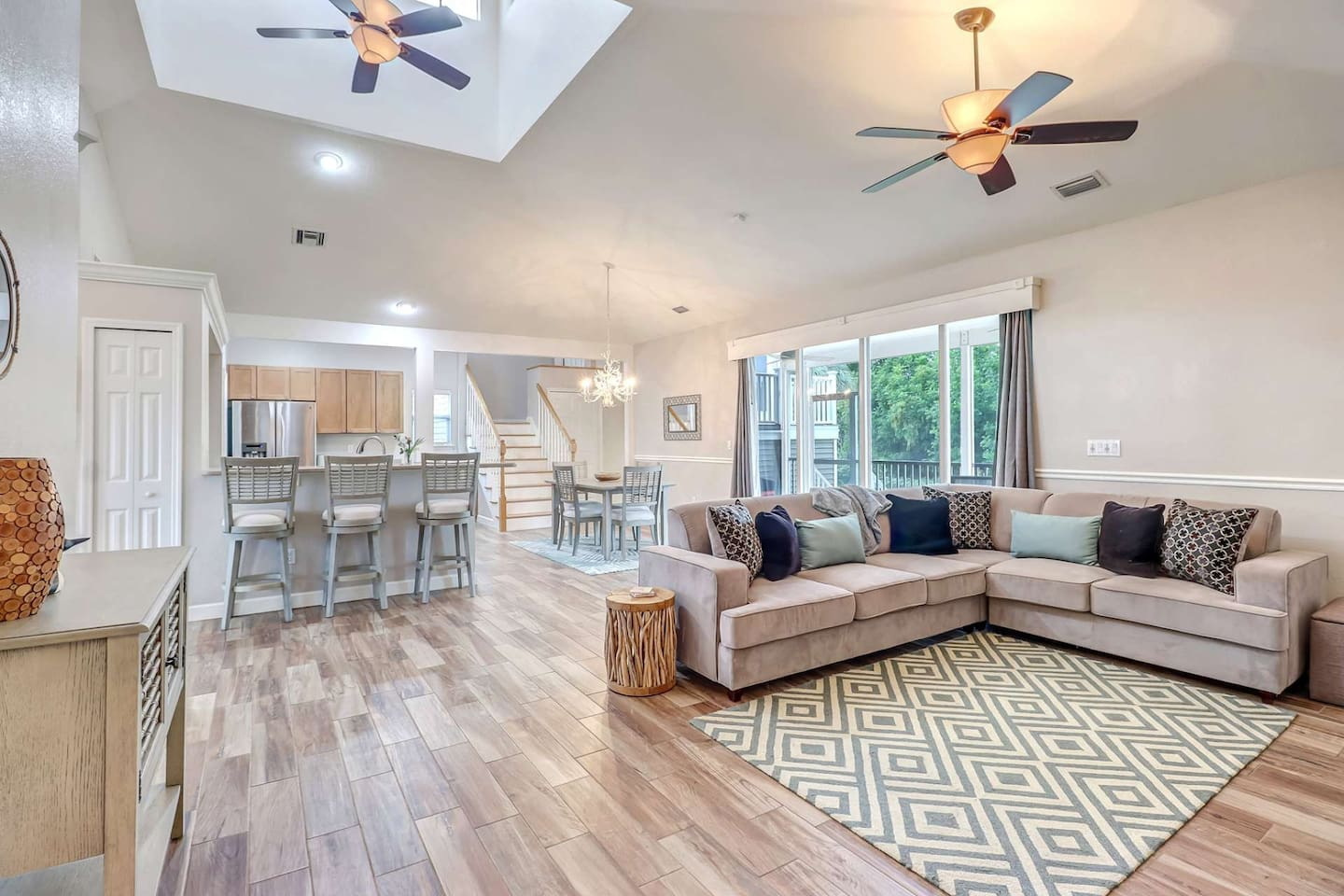 This freshly updated home is bright, modern, and full of gracious details ready to welcome you to southwest Florida!