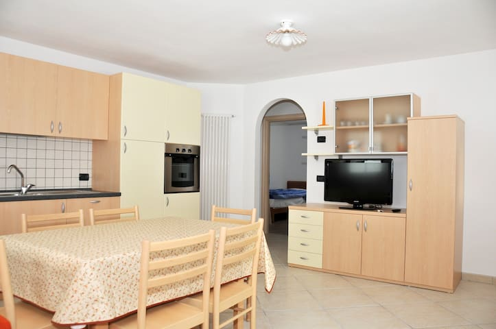Cozy and roomy apartment in the centre of Soraga