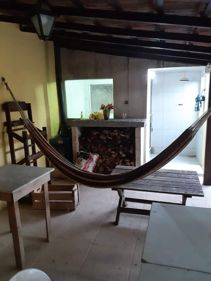 Casa de 3 quartos, com piscina e sauna em Amparo