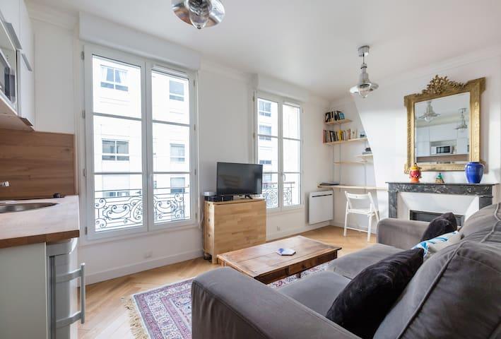 Beautiful apartment at the heart of Paris