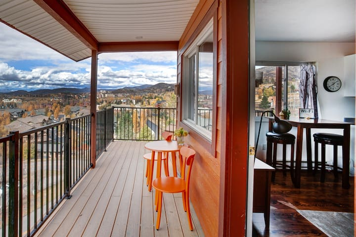 Winsome Mountain Condo with Spectacular Views