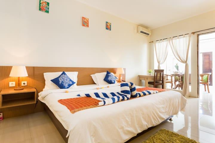 Cosy 1 bedroom villa - heart of Seminyak Oberoi - Seminyak  - House
