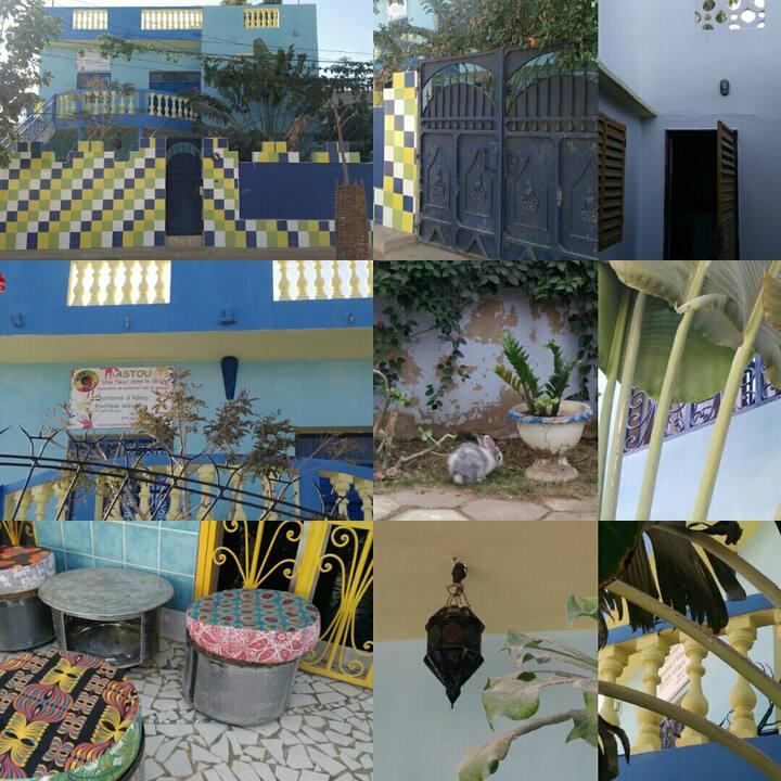 Chambre Teranga (hospitalité) de l'asso ASTOU