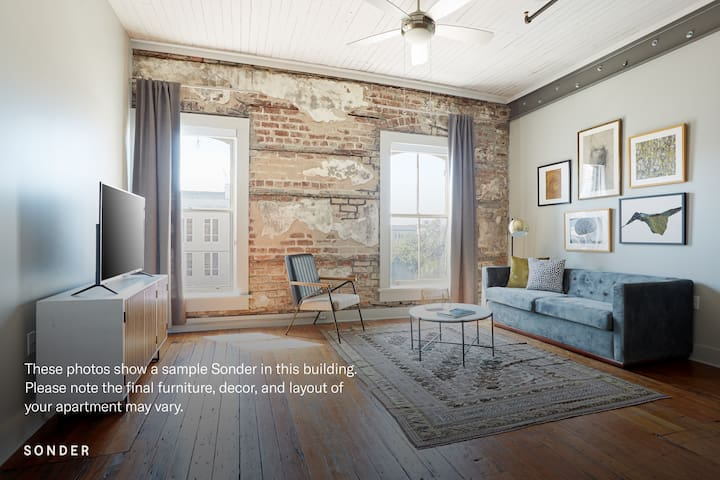 Sonder *Weekly Discounts* 2BR in Historic District