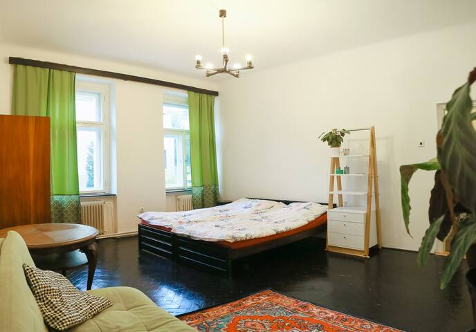 Huge room by Vyshehrad, close to centre & river!!!