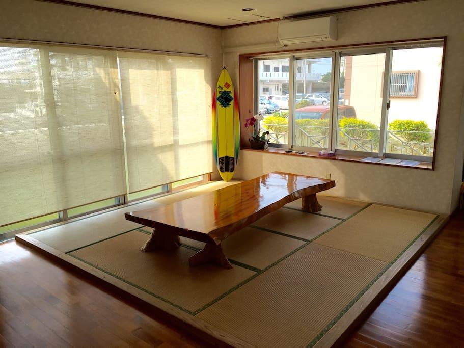 Japanese style tatami room.