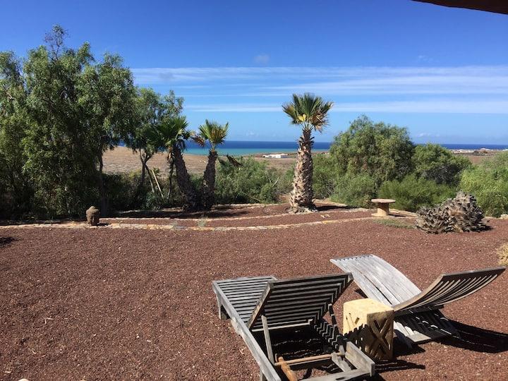 Casa Caballo on the westcoast of Fuerteventura