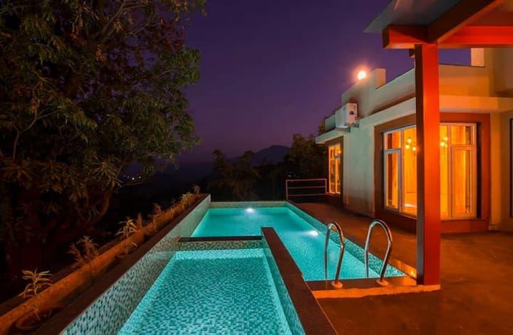 Hillside Villa in Pawna - 4bhk