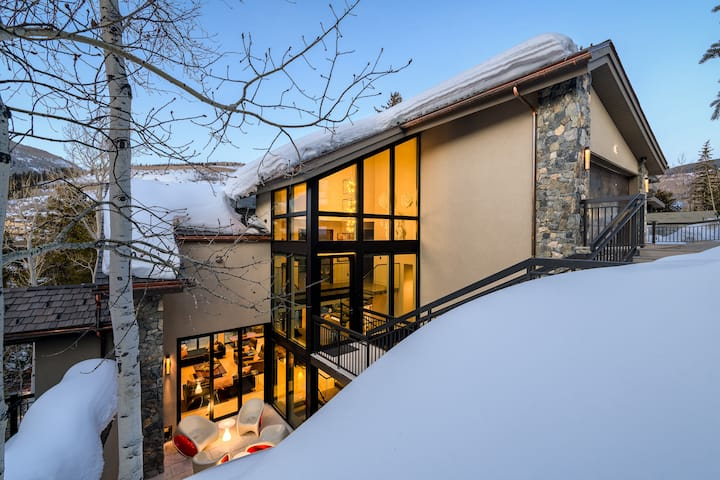 Forest Road Chateau: Walking distance to Vail Village, Private hot tub