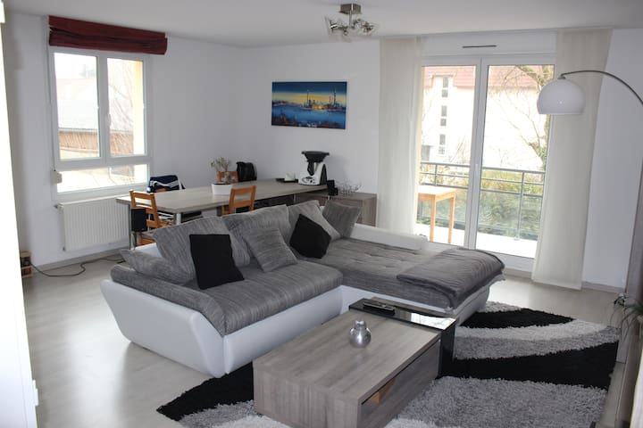 Appartement 5 minutes Euroairport