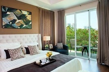 01 Bedroom in Lux Nadyne garden w pool@Parkcity HN