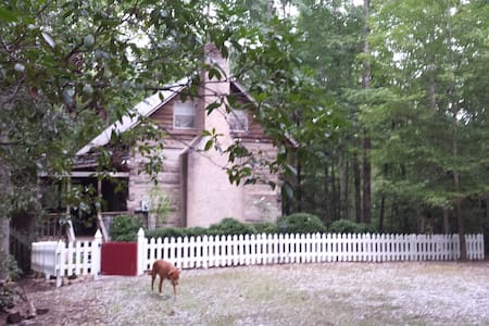 Log Cabin from 1826 NE GA Mountains - Clarkesville